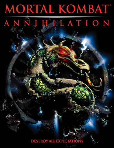 Poster de Mortal Kombat: Aniquilación