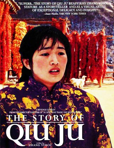 Qiu Ju da guan si (Qiu Ju, una mujer china) ()