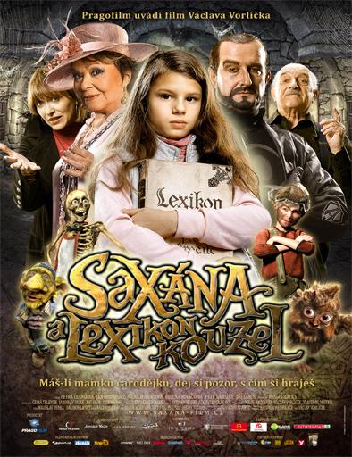 Poster de Saxana: La pequeña bruja y el libro encantado