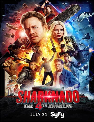 Poster de Sharknado: Que la 4ª te acompañe