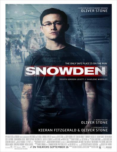 Poster de Snowden