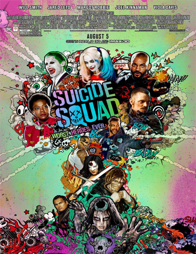 Ver Suicide Squad (Escuadrón Suicida) (2016) online