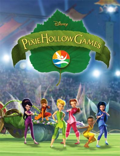 Poster de Campanilla y los Juegos de Pixie Hollow