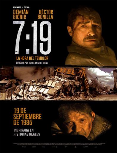 7:19, la hora del temblor (2016) online