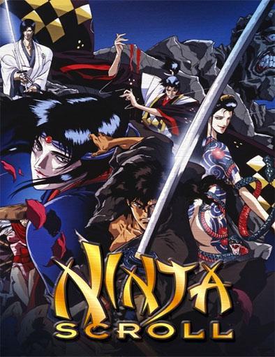 Poster de Jûbê Ninpûchô (Ninja Scroll)