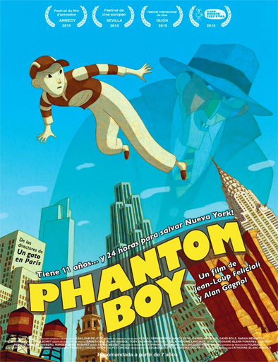 Poster de Phantom Boy (Chico fantasma)