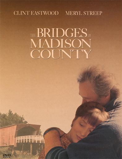 Poster de Los puentes de Madison