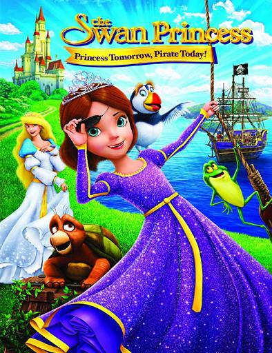 La princesa cisne: Aventura pirata (2016) online