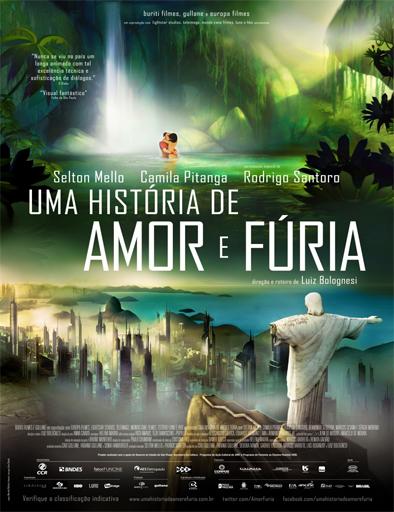 Poster de Rio 2096: Una historia de amor y furia