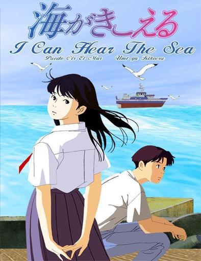 Poster de Umi ga kikoeru (Puedo escuchar el mar)