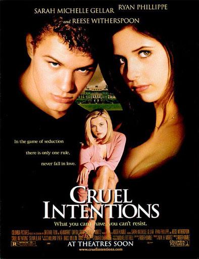 Poster de Cruel Intentions (Crueles intenciones)