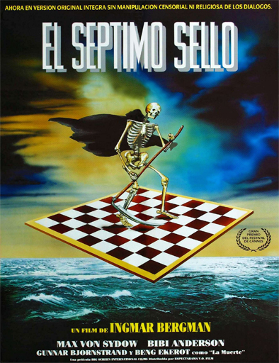 Poster de Det sjunde inseglet (El séptimo sello)
