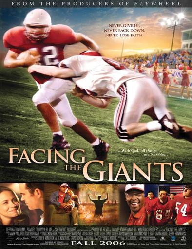 Poster de Facing the Giants (Gigantes hacia la victoria)