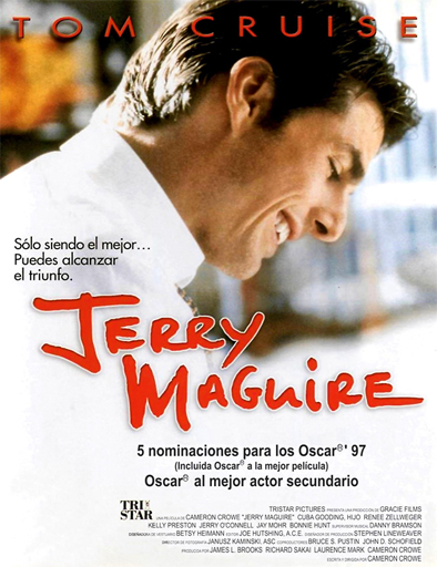 Poster de Jerry Maguire - Amor y desafío
