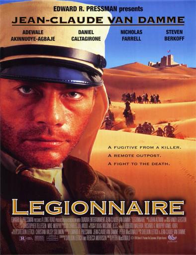 Poster de Legionnaire (Soldado de fortuna)