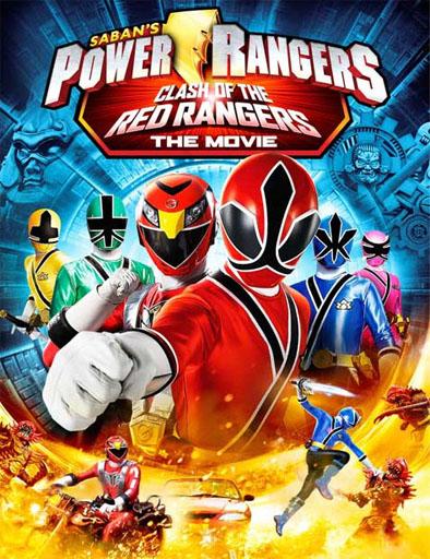 Power Rangers El choque de los Rangers Rojos (2012) online