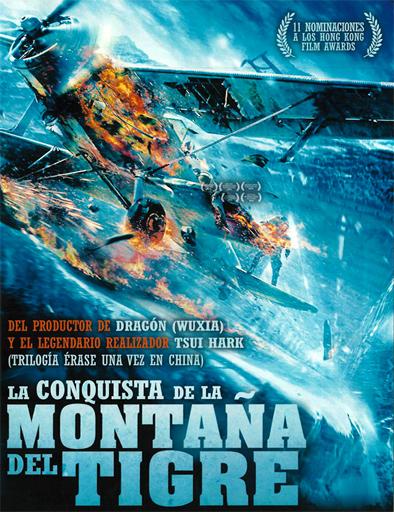Poster de La conquista de la Montaña del Tigre