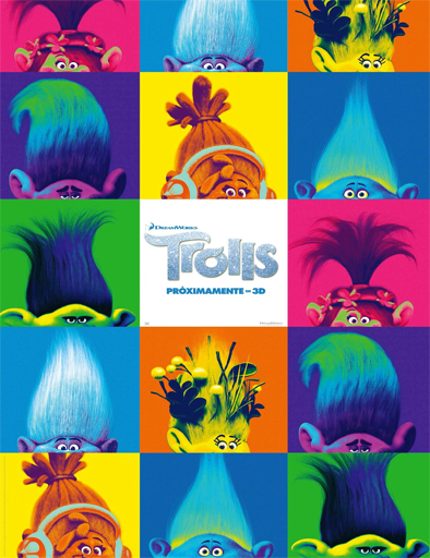 Trolls 2016 Online latino español Gratis
