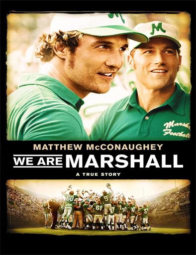 Poster de We Are Marshall (Somos Marshall)