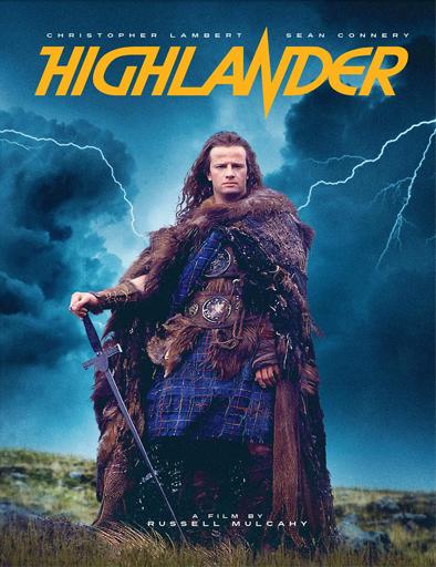 Poster de Highlander (Los inmortales)