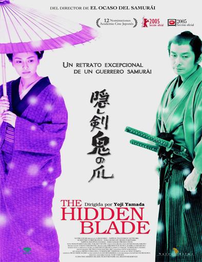 Poster de Kakushi-ken: oni no tsume (La espada oculta)