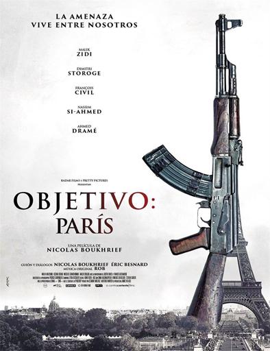 (Objetivo: París) (2015)  Made_in_France_poster_espa%C3%B1ol