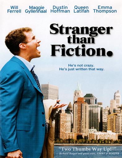Poster de Stranger Than Fiction (Más extraño que la ficción)