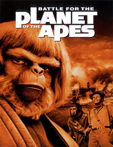 Poster de La batalla por el planeta de los simios