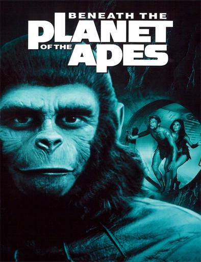 Poster de Bajo el planeta de los simios