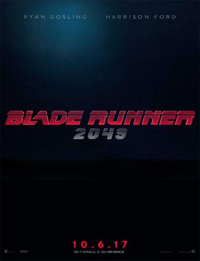 Ver Blade Runner 2049 (2017) online