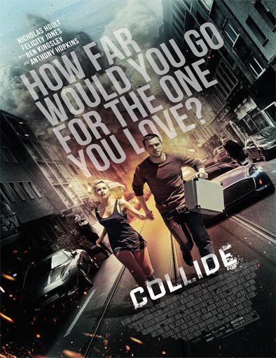 Poster de Collide (Persecución al límite)