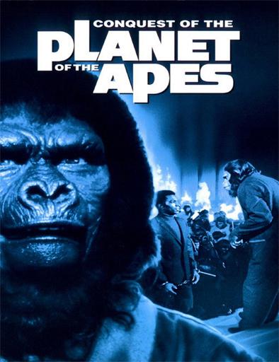 Poster de La conquista del planeta de los simios