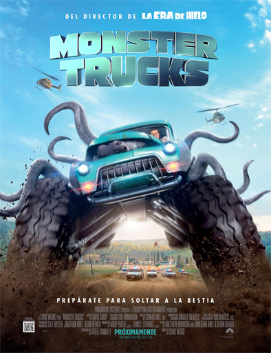Monster Trucks Película Completa DVD [MEGA] [LATINO] 2017