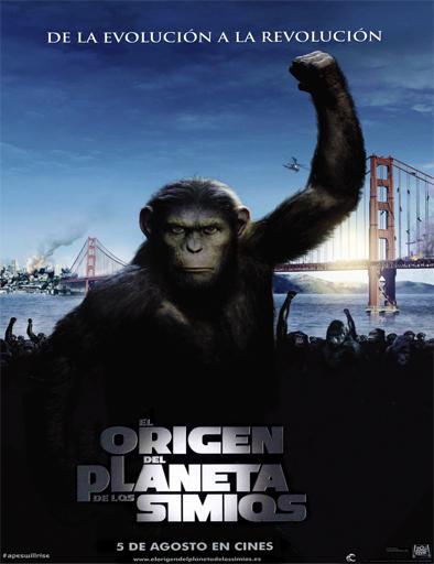 Poster de El origen del planeta de los simios