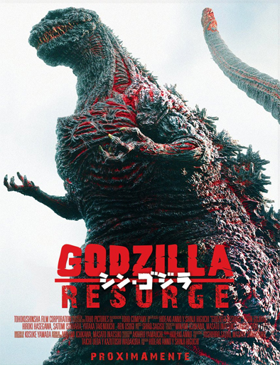 Shin Gojira – Godzilla resurge Película Completa DVD [MEGA] [LATINO]