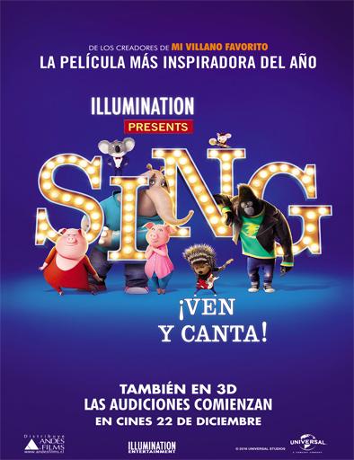 Ver Sing: ¡Ven y canta! (2016) online