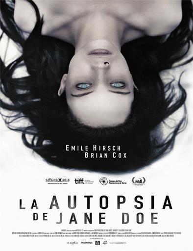 Poster de La autopsia de Jane Doe