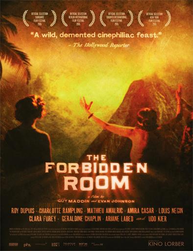 Poster de The Forbidden Room (El cuarto prohibido)