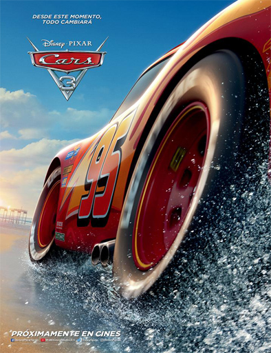 Cars 3 (2017) [BRRip 720p] [Latino] [1 Link] [MEGA]