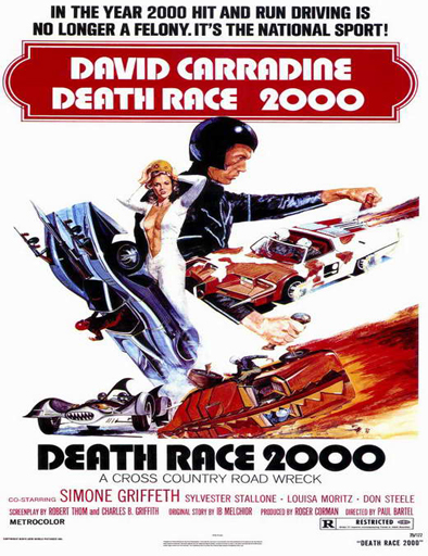 Poster de La carrera de la muerte del año 2000