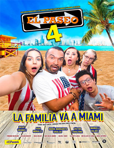 El Paseo 4 Película Completa DVD-R [MEGA] [LATINO] 2016
