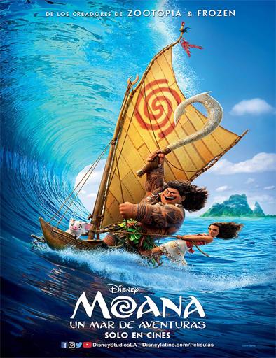 Ver Moana (Vaiana) (2016) Online – Un mar de aventuras