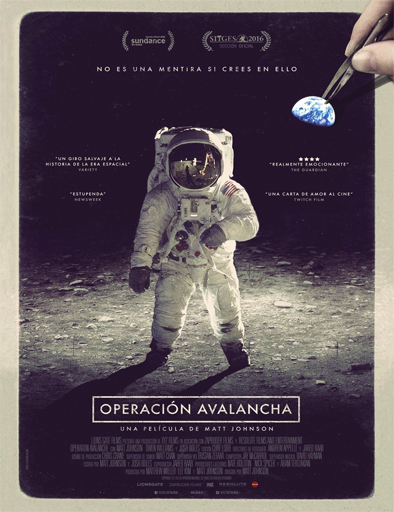 Poster de Operation Avalanche (Operación Avalancha)