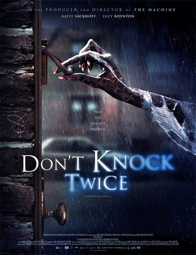 Poster de Don't Knock Twice (No toques dos veces)