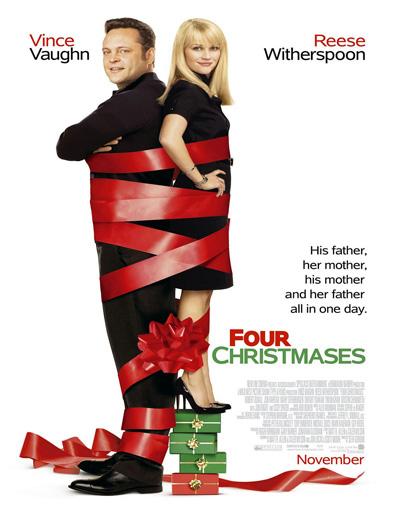 Poster de Navidad sin los suegros