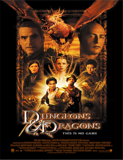 Poster de Dungeons and Dragons (Calabozos y dragones)