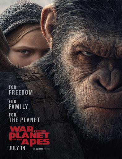 Poster de La guerra del Planeta de los Simios