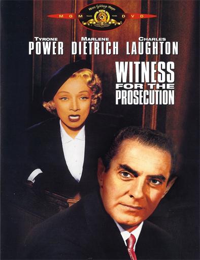 Poster de Witness for the Prosecution (Testigo de cargo)