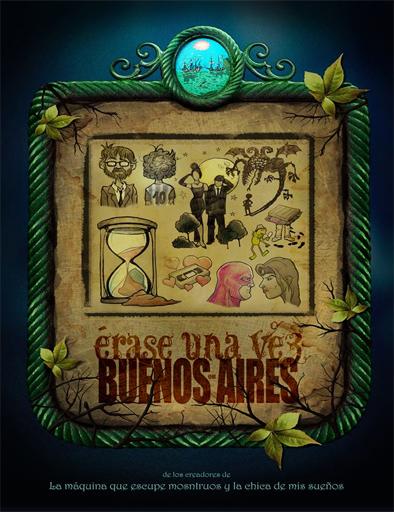 Poster de Érase una vez en Buenos Aires