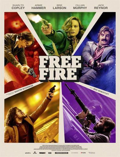 Free Fire (Fuego cruzado) (2016) [BRRip 720p] [Latino] [1 Link] [MEGA]